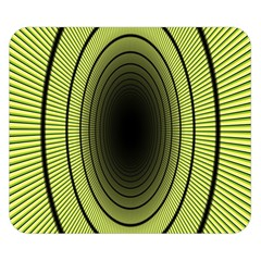 Spiral Tunnel Abstract Background Pattern Double Sided Flano Blanket (small)  by Simbadda