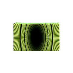 Spiral Tunnel Abstract Background Pattern Cosmetic Bag (xs) by Simbadda