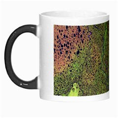 Lena River Delta A Photo Of A Colorful River Delta Taken From A Satellite Morph Mugs by Simbadda
