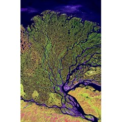Lena River Delta A Photo Of A Colorful River Delta Taken From A Satellite 5 5  X 8 5  Notebooks by Simbadda