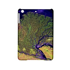 Lena River Delta A Photo Of A Colorful River Delta Taken From A Satellite Ipad Mini 2 Hardshell Cases by Simbadda