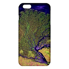 Lena River Delta A Photo Of A Colorful River Delta Taken From A Satellite Iphone 6 Plus/6s Plus Tpu Case by Simbadda