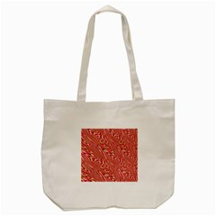 Abstract Neutral Pattern Tote Bag (cream) by Simbadda