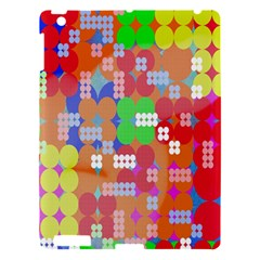 Abstract Polka Dot Pattern Digitally Created Abstract Background Pattern With An Urban Feel Apple Ipad 3/4 Hardshell Case by Simbadda
