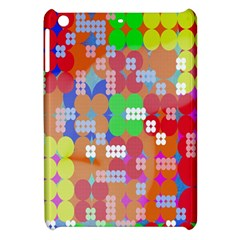 Abstract Polka Dot Pattern Digitally Created Abstract Background Pattern With An Urban Feel Apple Ipad Mini Hardshell Case by Simbadda