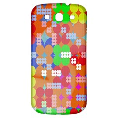 Abstract Polka Dot Pattern Digitally Created Abstract Background Pattern With An Urban Feel Samsung Galaxy S3 S Iii Classic Hardshell Back Case by Simbadda