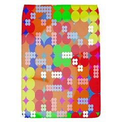 Abstract Polka Dot Pattern Digitally Created Abstract Background Pattern With An Urban Feel Flap Covers (s)  by Simbadda