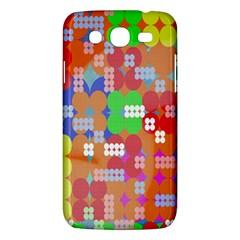 Abstract Polka Dot Pattern Digitally Created Abstract Background Pattern With An Urban Feel Samsung Galaxy Mega 5 8 I9152 Hardshell Case  by Simbadda