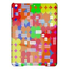 Abstract Polka Dot Pattern Digitally Created Abstract Background Pattern With An Urban Feel Ipad Air Hardshell Cases by Simbadda