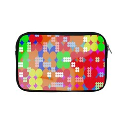 Abstract Polka Dot Pattern Digitally Created Abstract Background Pattern With An Urban Feel Apple Macbook Pro 13  Zipper Case by Simbadda