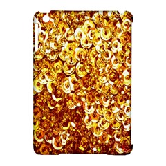 Yellow Abstract Background Apple Ipad Mini Hardshell Case (compatible With Smart Cover) by Simbadda