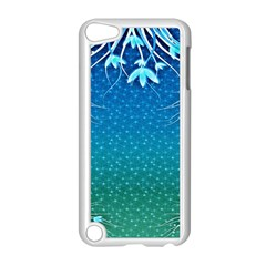 Floral 2d Illustration Background Apple Ipod Touch 5 Case (white) by Simbadda