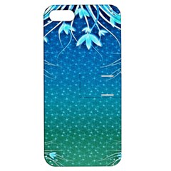 Floral 2d Illustration Background Apple Iphone 5 Hardshell Case With Stand by Simbadda