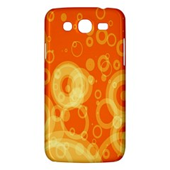 Retro Orange Circle Background Abstract Samsung Galaxy Mega 5 8 I9152 Hardshell Case  by Nexatart