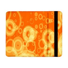 Retro Orange Circle Background Abstract Samsung Galaxy Tab Pro 8 4  Flip Case by Nexatart