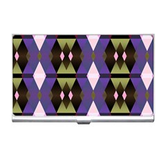 Geometric Abstract Background Art Business Card Holders