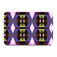 Geometric Abstract Background Art Plate Mats by Nexatart