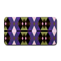 Geometric Abstract Background Art Medium Bar Mats by Nexatart