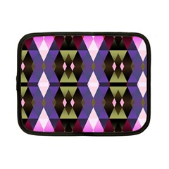 Geometric Abstract Background Art Netbook Case (small)  by Nexatart
