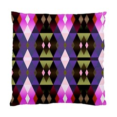 Geometric Abstract Background Art Standard Cushion Case (one Side) by Nexatart