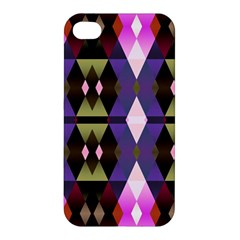 Geometric Abstract Background Art Apple Iphone 4/4s Hardshell Case