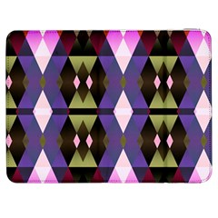 Geometric Abstract Background Art Samsung Galaxy Tab 7  P1000 Flip Case