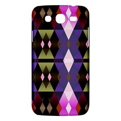 Geometric Abstract Background Art Samsung Galaxy Mega 5 8 I9152 Hardshell Case  by Nexatart