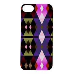 Geometric Abstract Background Art Apple Iphone 5s/ Se Hardshell Case by Nexatart