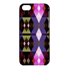Geometric Abstract Background Art Apple Iphone 5c Hardshell Case by Nexatart