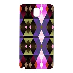 Geometric Abstract Background Art Samsung Galaxy Note 3 N9005 Hardshell Back Case