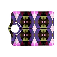 Geometric Abstract Background Art Kindle Fire Hd (2013) Flip 360 Case by Nexatart