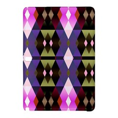 Geometric Abstract Background Art Samsung Galaxy Tab Pro 12 2 Hardshell Case by Nexatart