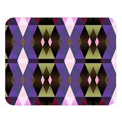 Geometric Abstract Background Art Double Sided Flano Blanket (large)  by Nexatart