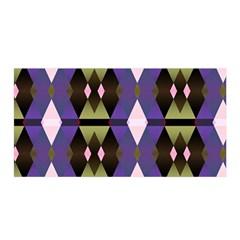 Geometric Abstract Background Art Satin Wrap