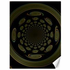 Dark Portal Fractal Esque Background Canvas 36  X 48   by Nexatart