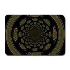 Dark Portal Fractal Esque Background Plate Mats by Nexatart