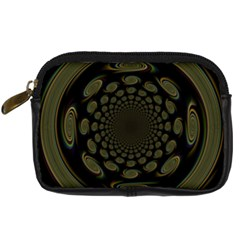Dark Portal Fractal Esque Background Digital Camera Cases by Nexatart