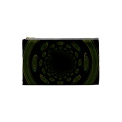 Dark Portal Fractal Esque Background Cosmetic Bag (small)  by Nexatart