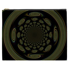 Dark Portal Fractal Esque Background Cosmetic Bag (xxxl)
