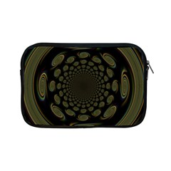 Dark Portal Fractal Esque Background Apple Ipad Mini Zipper Cases by Nexatart