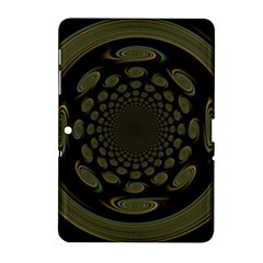 Dark Portal Fractal Esque Background Samsung Galaxy Tab 2 (10 1 ) P5100 Hardshell Case