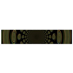 Dark Portal Fractal Esque Background Flano Scarf (small)