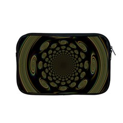 Dark Portal Fractal Esque Background Apple Macbook Pro 13  Zipper Case by Nexatart