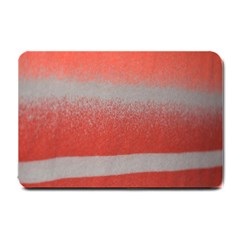 Orange Stripes Colorful Background Textile Cotton Cloth Pattern Stripes Colorful Orange Neo Small Doormat