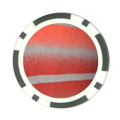 Orange Stripes Colorful Background Textile Cotton Cloth Pattern Stripes Colorful Orange Neo Poker Chip Card Guard (10 Pack) by Nexatart