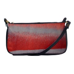 Orange Stripes Colorful Background Textile Cotton Cloth Pattern Stripes Colorful Orange Neo Shoulder Clutch Bags by Nexatart