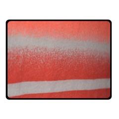 Orange Stripes Colorful Background Textile Cotton Cloth Pattern Stripes Colorful Orange Neo Fleece Blanket (small) by Nexatart