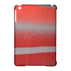 Orange Stripes Colorful Background Textile Cotton Cloth Pattern Stripes Colorful Orange Neo Apple Ipad Mini Hardshell Case (compatible With Smart Cover) by Nexatart