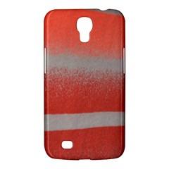Orange Stripes Colorful Background Textile Cotton Cloth Pattern Stripes Colorful Orange Neo Samsung Galaxy Mega 6 3  I9200 Hardshell Case by Nexatart