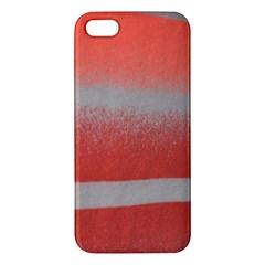 Orange Stripes Colorful Background Textile Cotton Cloth Pattern Stripes Colorful Orange Neo Iphone 5s/ Se Premium Hardshell Case